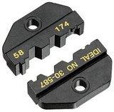 30-587. Матрица RG-58, RG-174, RG-8218, для Крипмастера (Crimpmaster) обжимной инструмент 30-506.