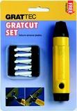 CR5510GT. Набор для зачистки мягких и твердых абразивных пластиков. Gratcut Set.
