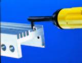 """EL1705GT. Инструмент для зачистки углов в узких пазах шириной до 4 мм. GT """"C""""."""