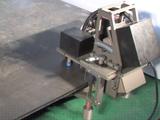 АФЛ-1. Автоматический фаскосниматель для листа. Фаска 22-45 град. Толщина 30 мм