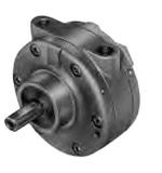 2AM-FCC-1. Пневмодвигатель (пневмомотор). Мощность 0.7 кВт, Ход 3000 об/мин, Момент 2.2 Нм