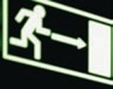 Фотолюминесцентная лента для маркировки дверей, 60 мм*25м