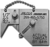 Mini Sub. Шаблон для измерения горла сварного шва